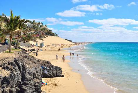 From £199pp for a three-night Lanzarote stay with flights, breakfast and a trip to Fuerteventura, £289pp for five nights, £319pp for seven nights - save up to 27%