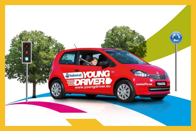 £24.95 for a 30-minute young driver taster session, £49.95 for a full 60-minute lesson with Young Driver Training - choose from 12 UK locations and save up to 29%