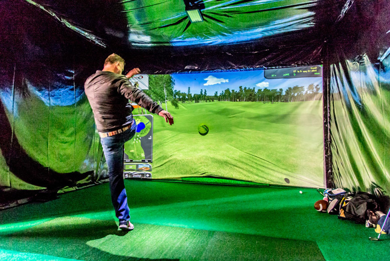 £15 instead of up to £30 for a one-hour multisport simulator experience for two or more people at Walshy's SportsPad, Leicester - save up to 50%