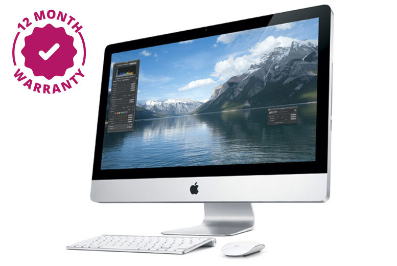 21.5″ Apple iMac with Keyboard & Mouse – 12 Month Warranty Included! from £499.00