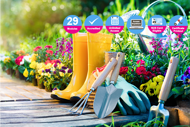 Certified Garden Design & Maintenance Course for £16.00
