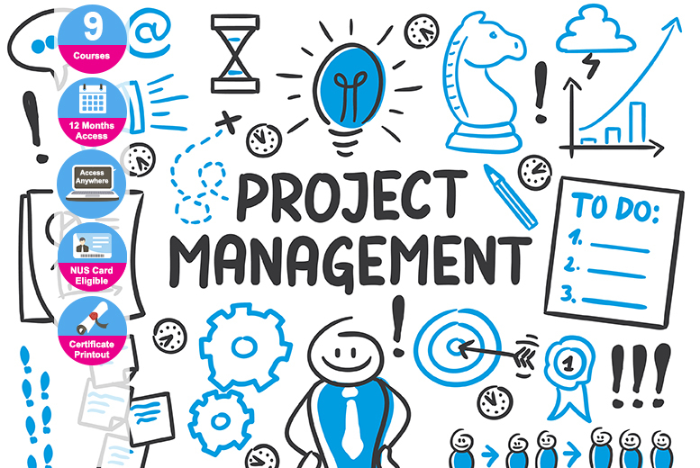 Project Management Master Certification Bundle – 9 Courses! for £69.00
