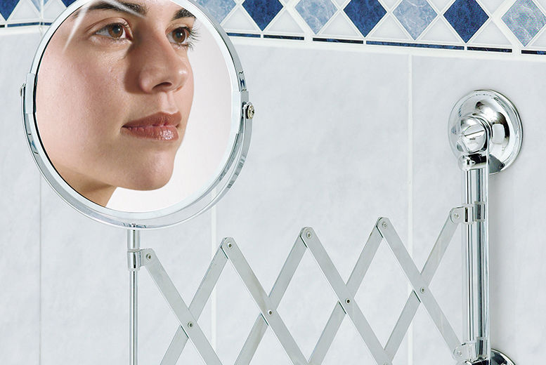 Extendable Bathroom Mirror for £11.99
