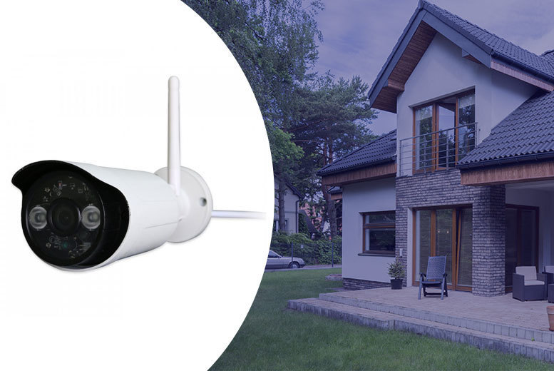 Wireless Outdoor HD Camera with Night Vision for £49.99