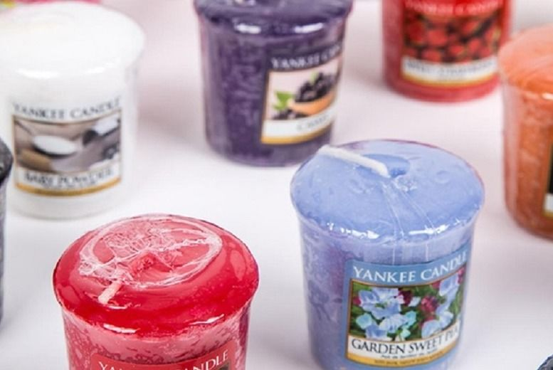 8pc Yankee Votive Candles for £7.99