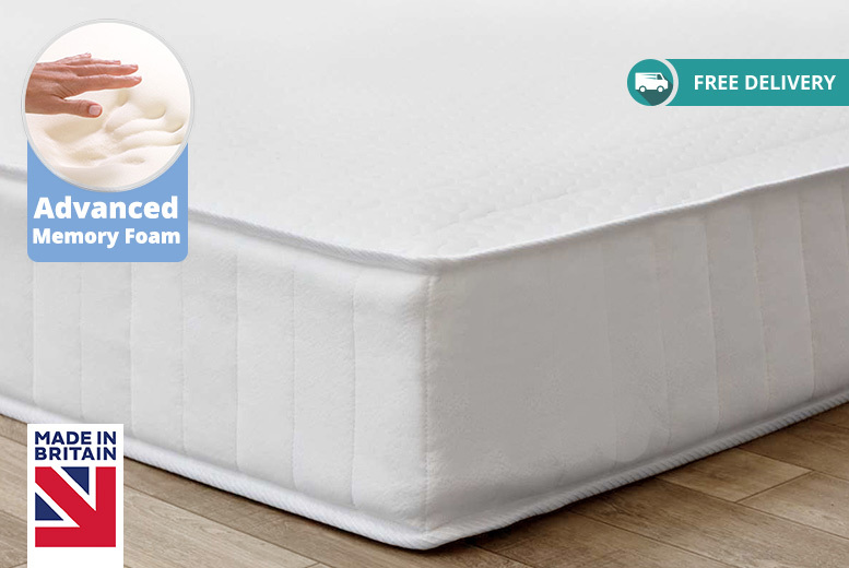 Soft-Touch Ortho Coil Spring Mattress from £49.00