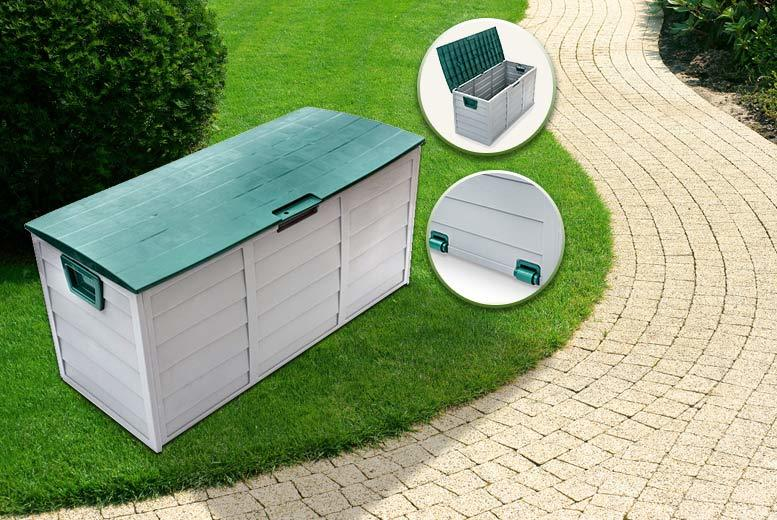 £29.99 instead of £120 for an outdoor garden storage box - save 75%