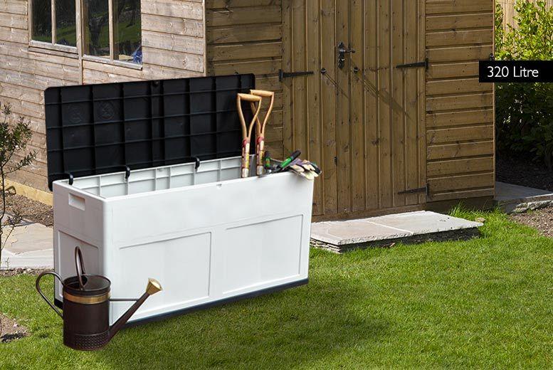 extra large waterproof garden storage chest