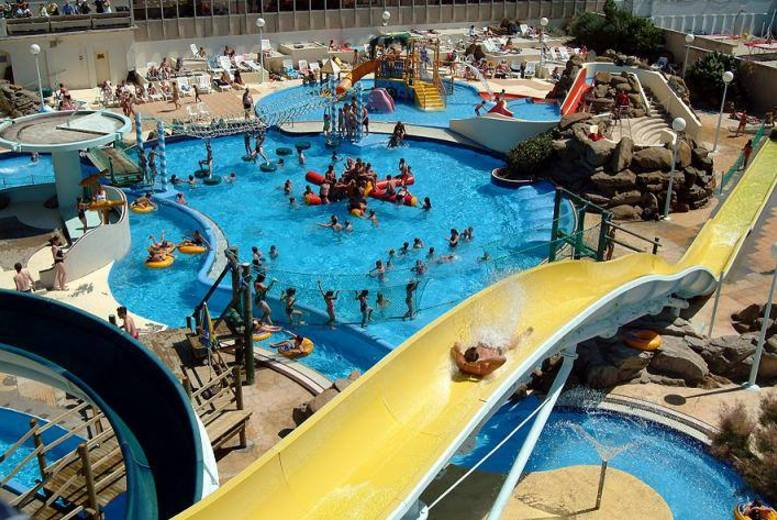 £54 instead of £89 for a one-day beach trip to Le Touquet including Aqualud Water Park entry from Coach Innovations - save 39%