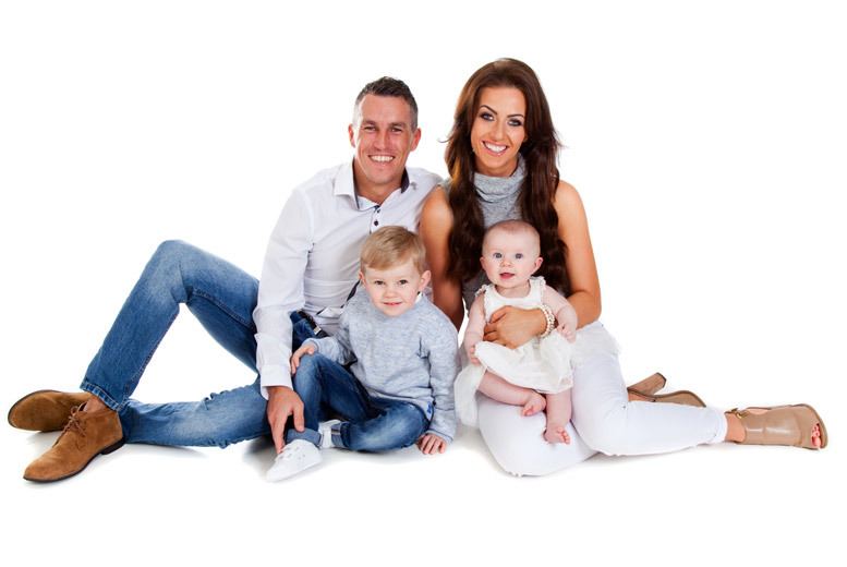£9 for a one-hour family photoshoot for up to 12 people with 12 prints at Premier Photography, Glasgow