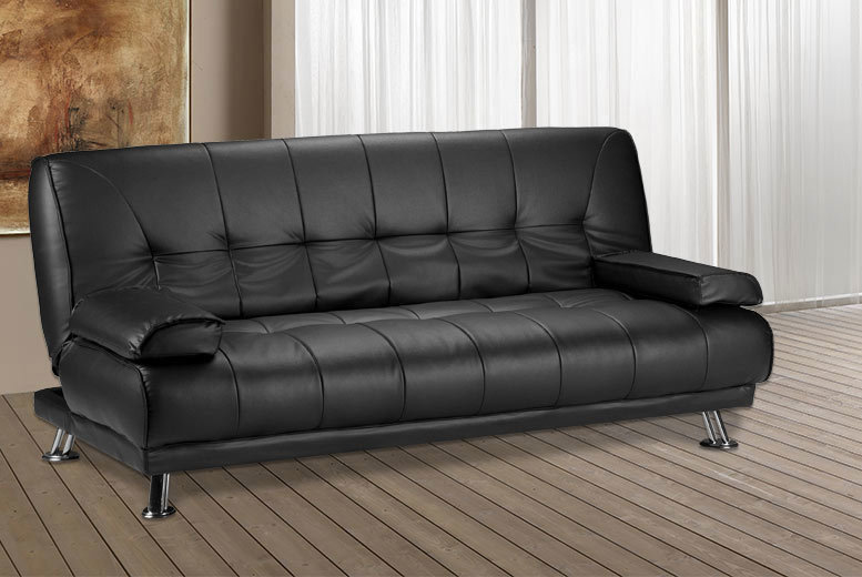 £149 (from Limitless Base) for a Venice faux leather sofa bed - get comfy and save 70%
