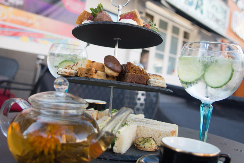 £19 instead of £41.90 for afternoon tea for two with a glass of Prosecco or a gin and tonic each at Soda Bar, Cardiff - save 55%