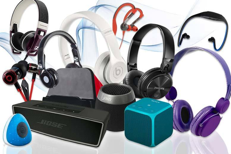 £7.99 for a mystery audio deal - products include Phillips wireless headphones, iBeats by Dr Dre headphones, Bose Bluetooth speaker and more!