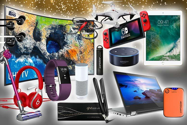 Mystery Gadget Deal – FitBit, Beats, GHD, Samsung, VEHO & More! for £10.00