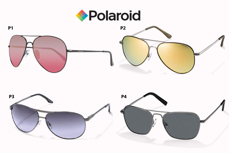 Polaroid Sunglasses – 16 Styles! for £19.00