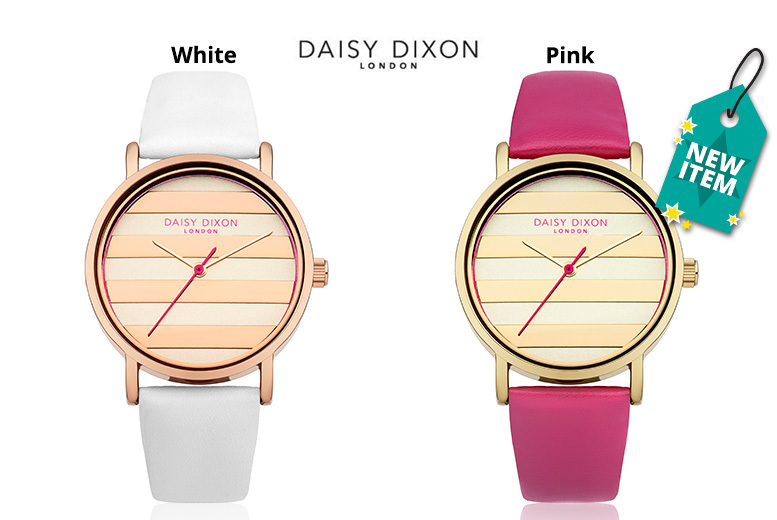 Ladies' Daisy Dixon 'Poppy' Leather Watch - 2 Designs!
