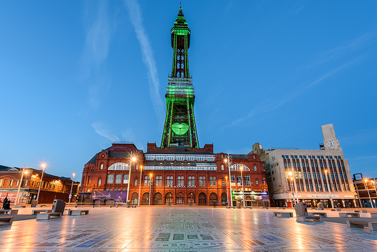 From £29 (at The Cavendish Hotel) for a Blackpool stay for two people including breakfast and a bottle of wine, or from £69 for a family room stay - save up to 53%