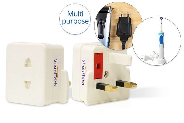 1 or 3 Multi-Use Adapters – Toothbrushes, Shavers & More! from £1.99