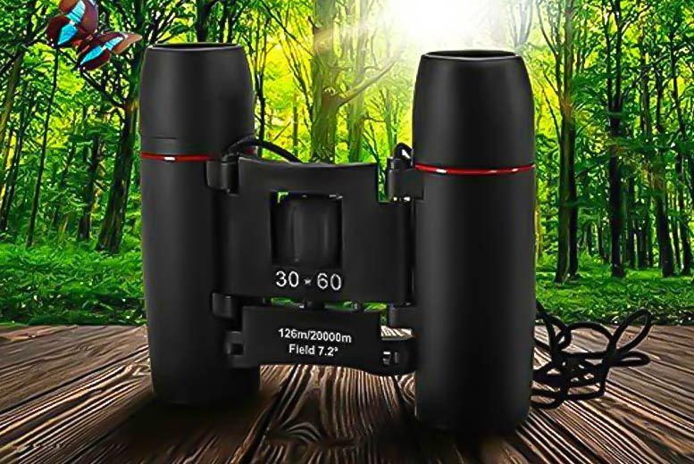 Mini Folding Binoculars for £9.99