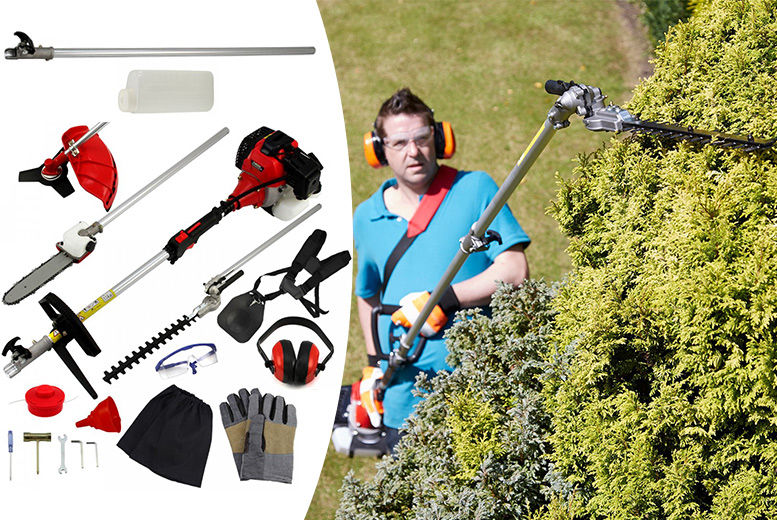 5-in-1 52cc Petrol Garden Multi-Tool for £139.00
