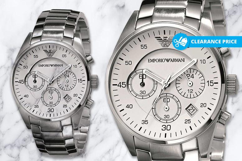 Men's Emporio Armani AR5869 Stainless Steel Watch