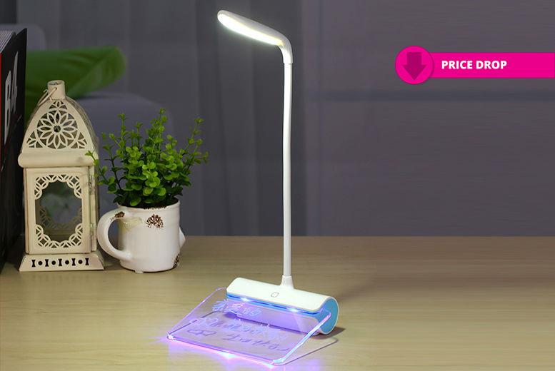 LED Message Board Desk Lamp for £7.99