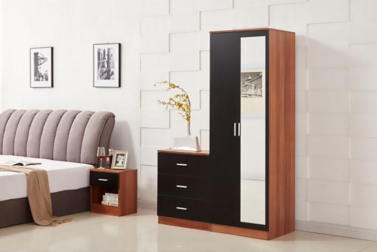 3pc Bedroom Furniture Set - 2 Colours!