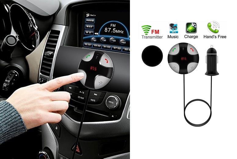 Bluetooth Hands Free FM Car Kit for £14.99