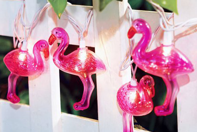 Flamingo String Lights from £8.99