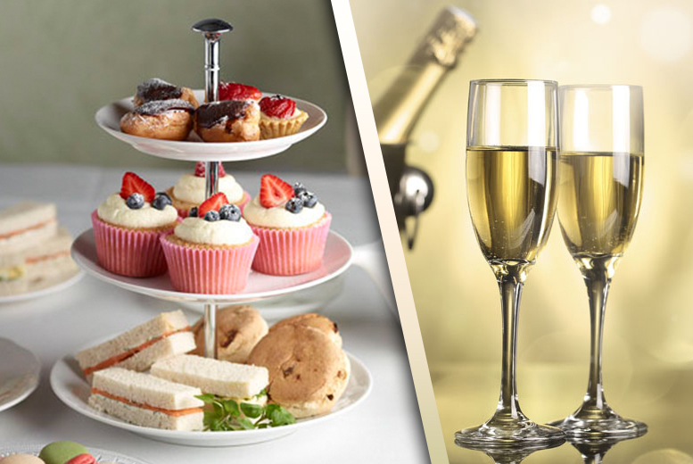 £10 for afternoon tea for two, £14 for two with Prosecco at The Rock Hotel
