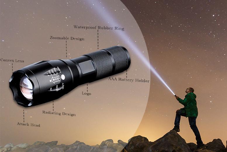 Military Style Flashlight
