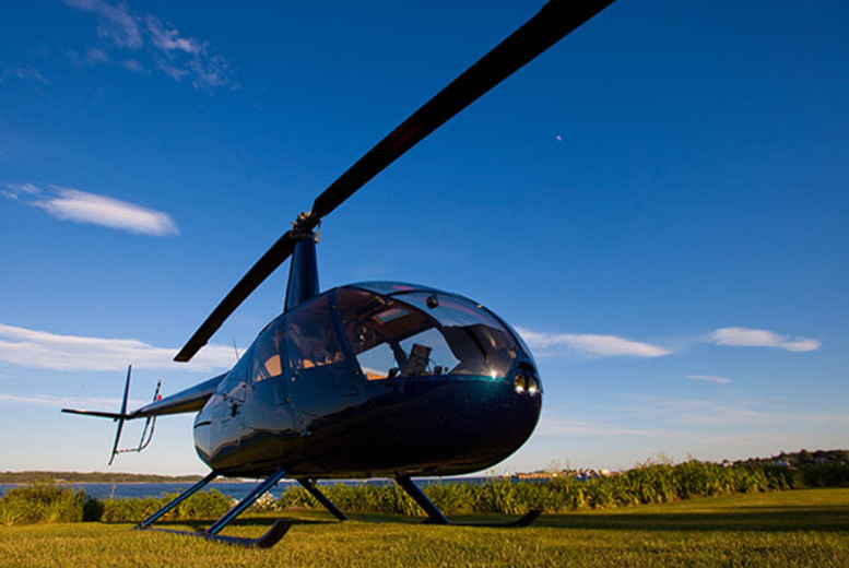 £74 for a helicopter buzz flying experience for two people from Buyagift - choose from over 25 locations!
