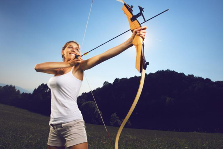 £19 instead of £49.95 for a two-hour archery experience for one person, or £28 for two people at Aim Archery, East Sussex - save up to 62%