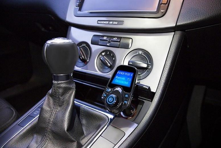 Bluetooth Car FM Transmitter for £17.99