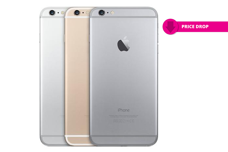 16GB or 64GB iPhone 6 Plus – 3 Colours! from £259.00