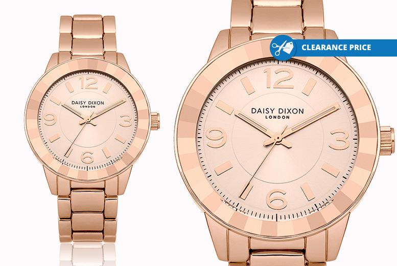 Daisy Dixon 'Lara' Rose Gold Watch