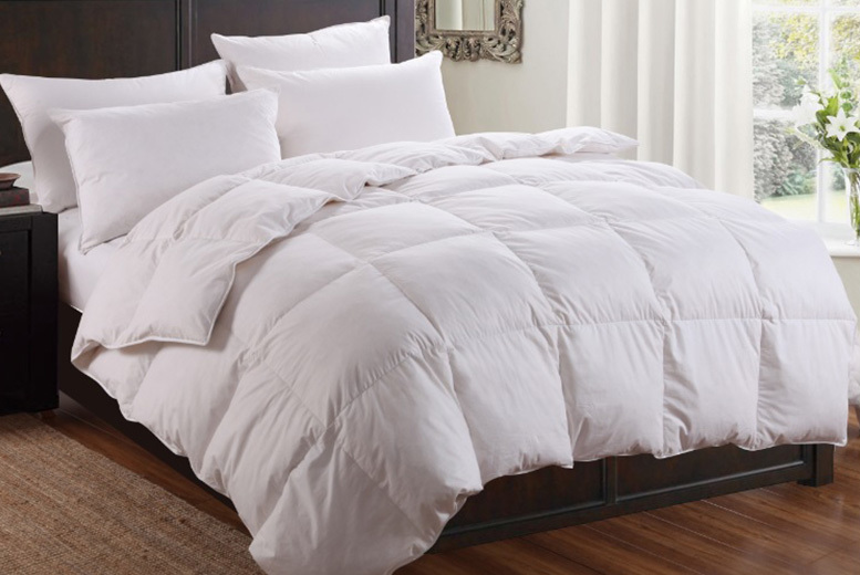 10.5 Tog Dickens Duck Feather & Down Duvet from £14.99