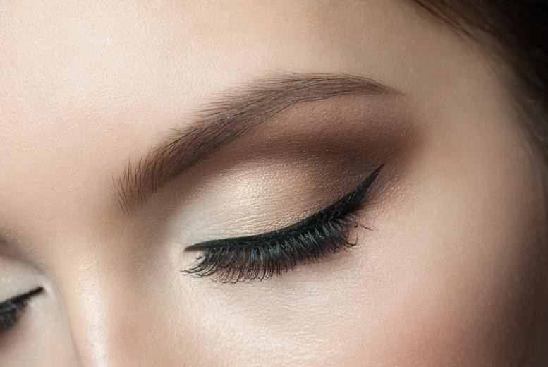 £16 for a full set of natural semi-permanent eyelash extensions, £24 for extra thick lashes or £34 for Russian volume lashes at HMB Salon, Ilford - save up to 75%