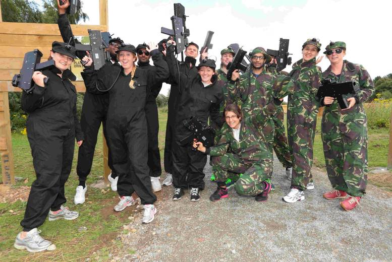 £59 instead of £150 for Ecombat laser tag for up to 10 people at Holme Pierrepont Country Park, Nottingham - save 61%