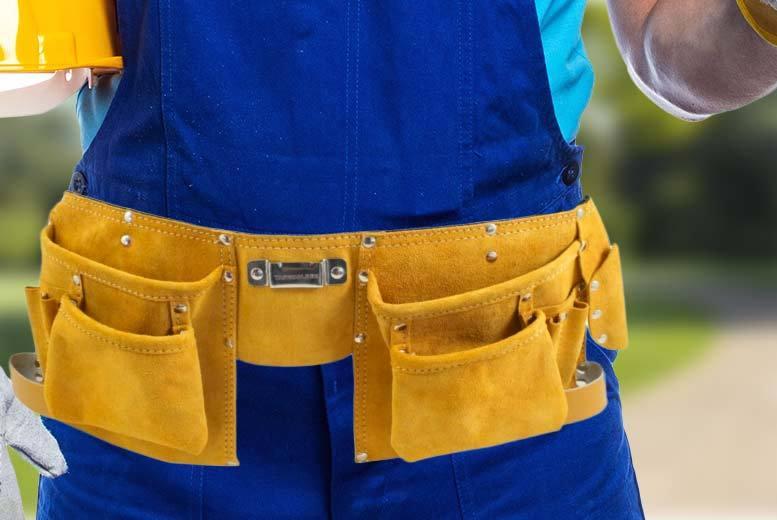 DEKTON Suede Leather Tool Belt