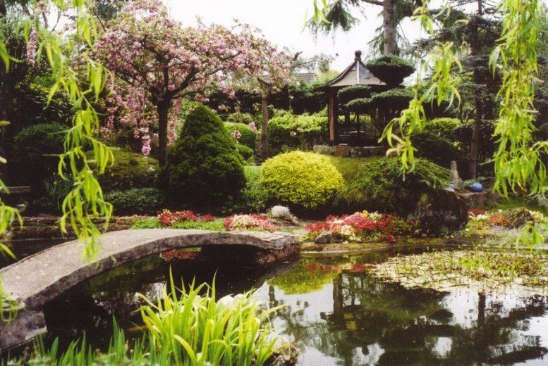 £9 instead of £14 for entry for two adults to the Pure Land Japanese Garden, North Clifton, £13 for two adults and two children - save up to 36%