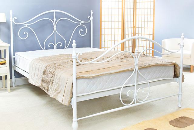 Como bedstead bedmaster mattress glasgow wowcher for Bed master