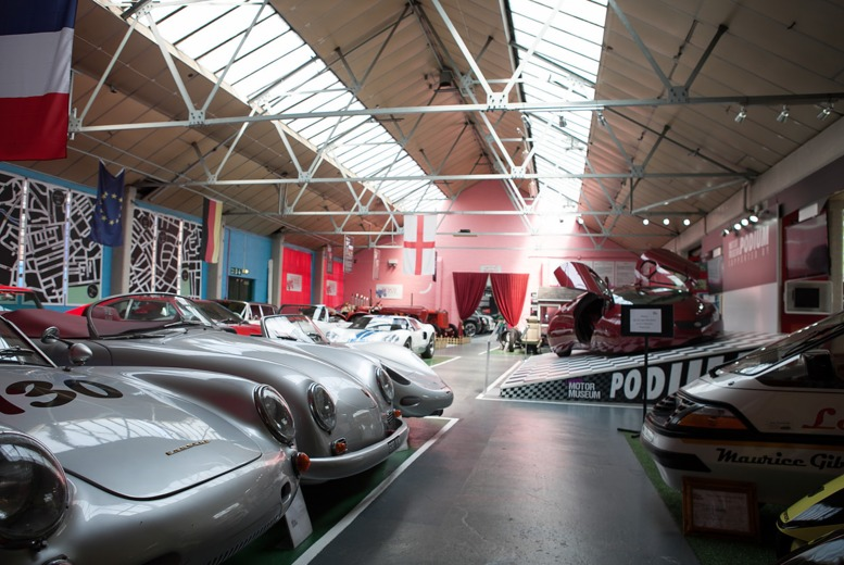 £9.50 for a child ticket to the London Motor Museum, £12 for an adult ticket, £32.50 for a family - save up to 52%