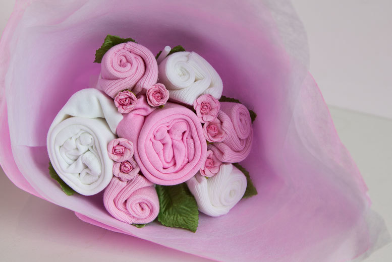 Welcome Baby Bouquet – 3 Colours!