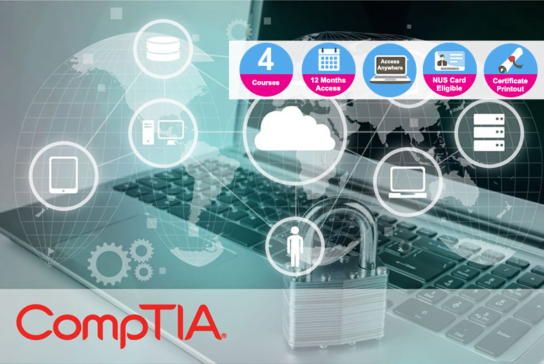 Break Into IT With CompTIA – 4 Courses! from £39.00