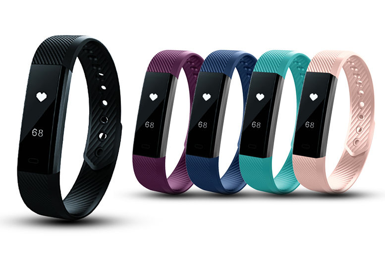10-in-1 Fitness Tracker – 5 Colours! for £12.99