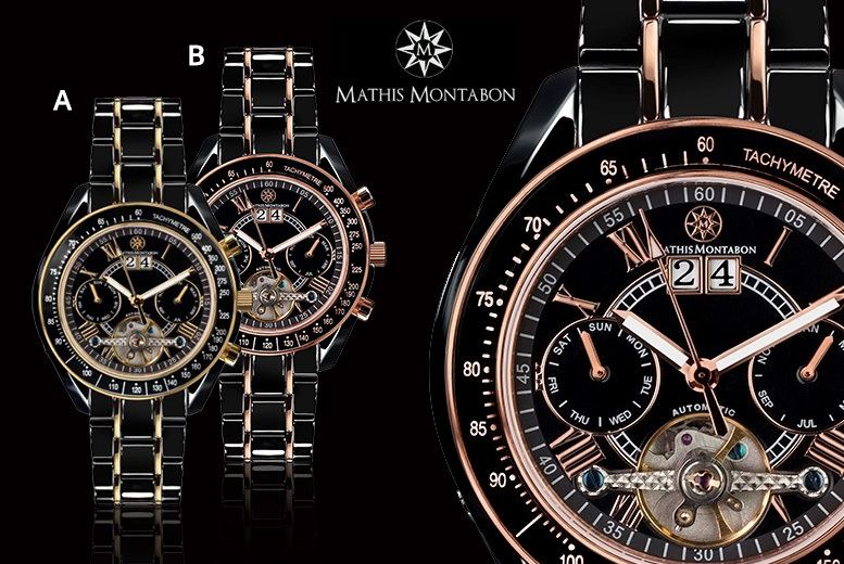 Mathis Montabon Automatic Luxury Watches - 6 Designs!