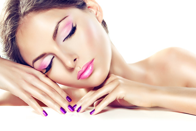 Shellac manicure at Vamp Nails, Leeds - get shiny nails and save up to