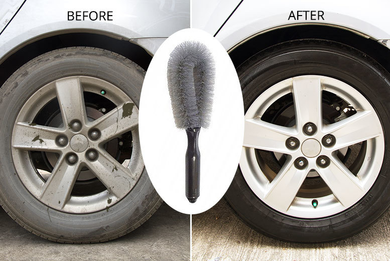 Wheel-Cleaning Brush for £2.99