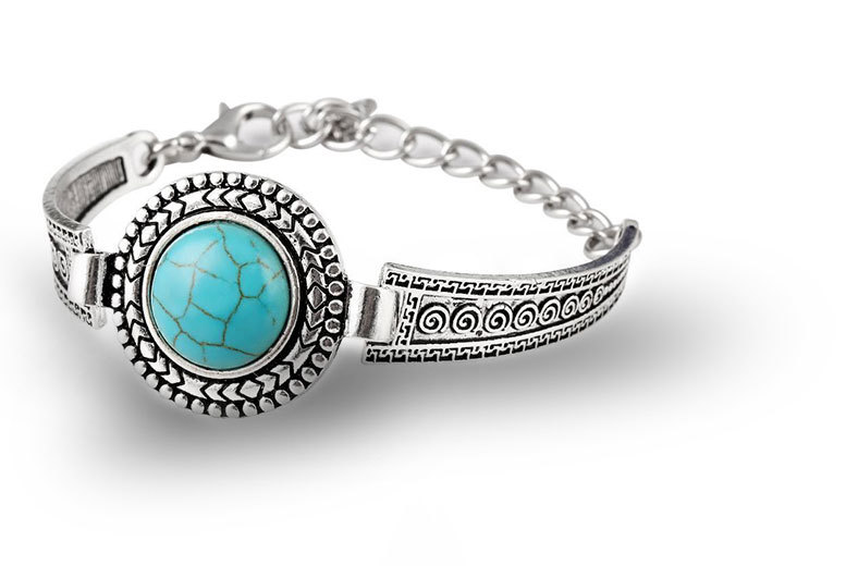 £7 instead of £59.99 (from Alvi's Fashion) for a Tibetan style silver-plated bangle - find your zen and save 88%